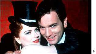 Nicole Kidman with Ewan McGregor