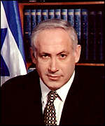 [ image: Netanyahu: Previously critical of US lack of action]