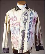 Johnny Rotten's shirt