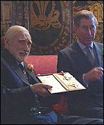 Spike Milligan and Prince Charles