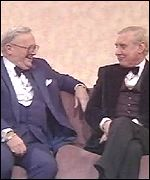 Spike Milligan and Harry Secombe