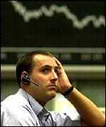 When trading reopened stocks had fallen drastically