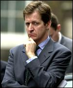 Downing Street communications chief Alastair Campbell