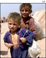 Afghanistan refugee children in Pakistan