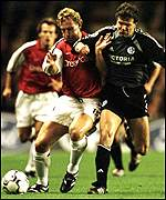 Ray Parlour (left) and Andreas Moller