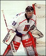 Goaltender Dominik Hasek helped the Czech Republic to a gold medal in 1998
