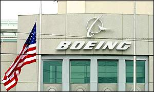 A Boeing test center building in Seattle