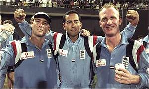 Graham Thorpe, Adam Hollioake, Matthew Fleming
