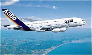 The new Airbus A380
