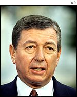 US Attorney General John Ashcroft