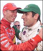 Memo Gidley (left) and Dario Franchitti