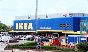 An Ikea store in England