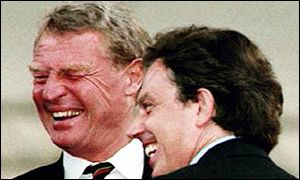 Paddy Ashdown and Tony Blair