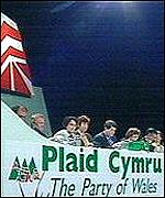 Plaid Cymru's 2001 conference in Cardiff