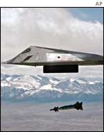 f117 Stealth aircraft