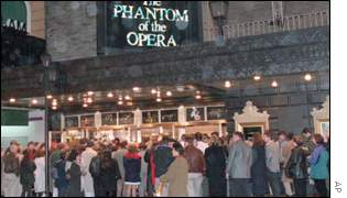 Phantom of the Opera is sty the city's Majestic Theatre