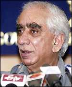 Indian Foreign Minister Jaswant Singh
