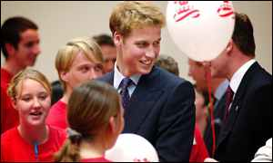 Prince William at the Lighthouse