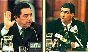 Ali Bacher, the United Cricket Board of South Africas managing director gives evidence