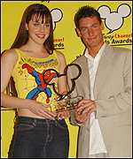 Michelle Ryan and Dean Gaffney