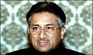 Pakistan president General Musharraf