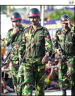 Bangladesh troops