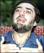 Northern Alliance Foreign Minister Abdullah Abdullah