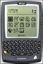Blackberry 950 wireless pager Research In Motion