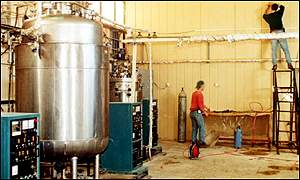 Iraqi biological weapons plant
