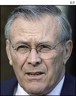 Defense Secretary Donald Rumsfeld