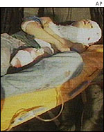 A victim of the Luxor attack