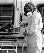 Researching anthrax vaccines in Porton Down 1964