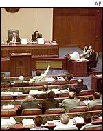 Macedonian parliament