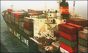 Yang Ming Line container ship