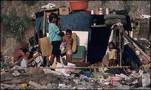 Villa miseria en Latinoamérica