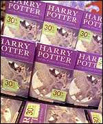 Harry Potter books on sale