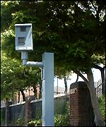 A speed camera pictured on the speed-trap website