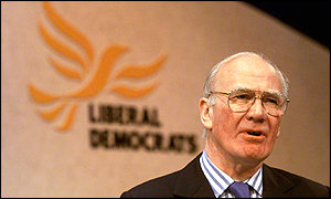 Lib Dem foreign affairs spokesman Menzies Campbell