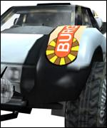 Dune buggy from Rage's Wild, Wild Racing computer game, Rage