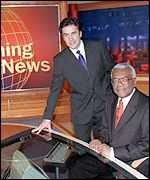 Dermot Murnaghan and Trevor McDonald