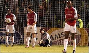 Lauren, Keown, Seaman and Viera reflect on the opening goal
