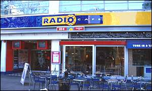 Capital Radio HQ in Leicester Square