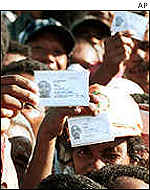 East Timor election, August 2001