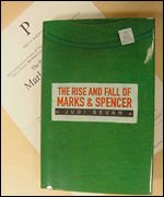 Judi Bevan's book, 'The Rise and Fall of Marks & Spencer'
