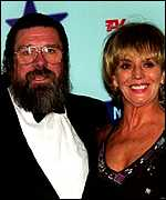 Ricky Tomlinson with his two-time screen wife Sue Johnston