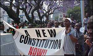 Launch of the new constitution