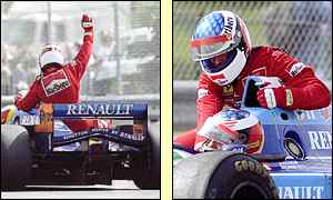 The Frenchman recorded his only Grand Prix victory in Canada in 1995 he has finished second 16 times