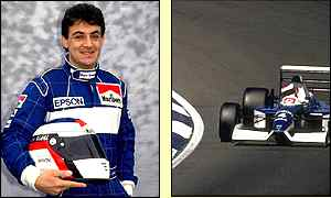 Frenchman Jean Alesi finished fourth on his debut at the French Grand Prix in 1989
