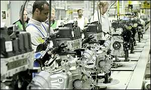 BMW plant at Cowley
