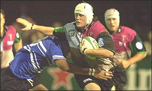 Steve White-Cooper goes on the charge against Bridgend